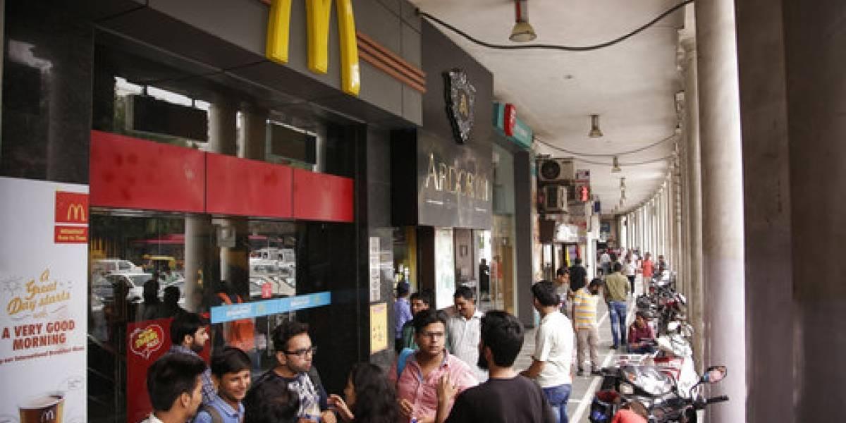 McDonald's cierra cientos de locales en India