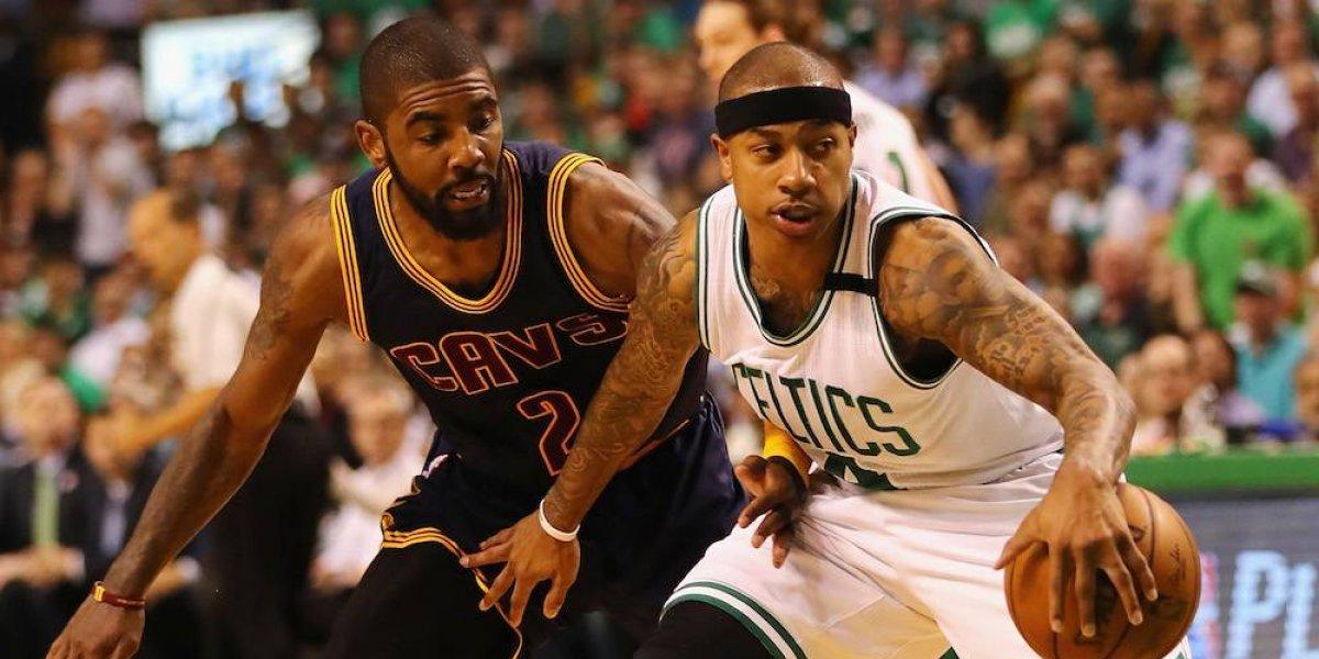 Cavs ceden a Kyrie Irving a Celtics, a cambio de Isaiah Thomas