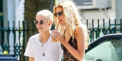 Filtran fotos íntimas de Miley Cyrus y Kristen Stewart