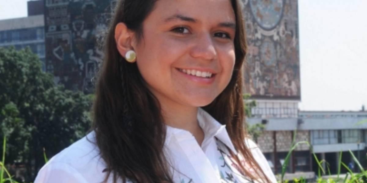 Estudiante de la UNAM diseña modelo a escala de helicóptero que volará a Marte