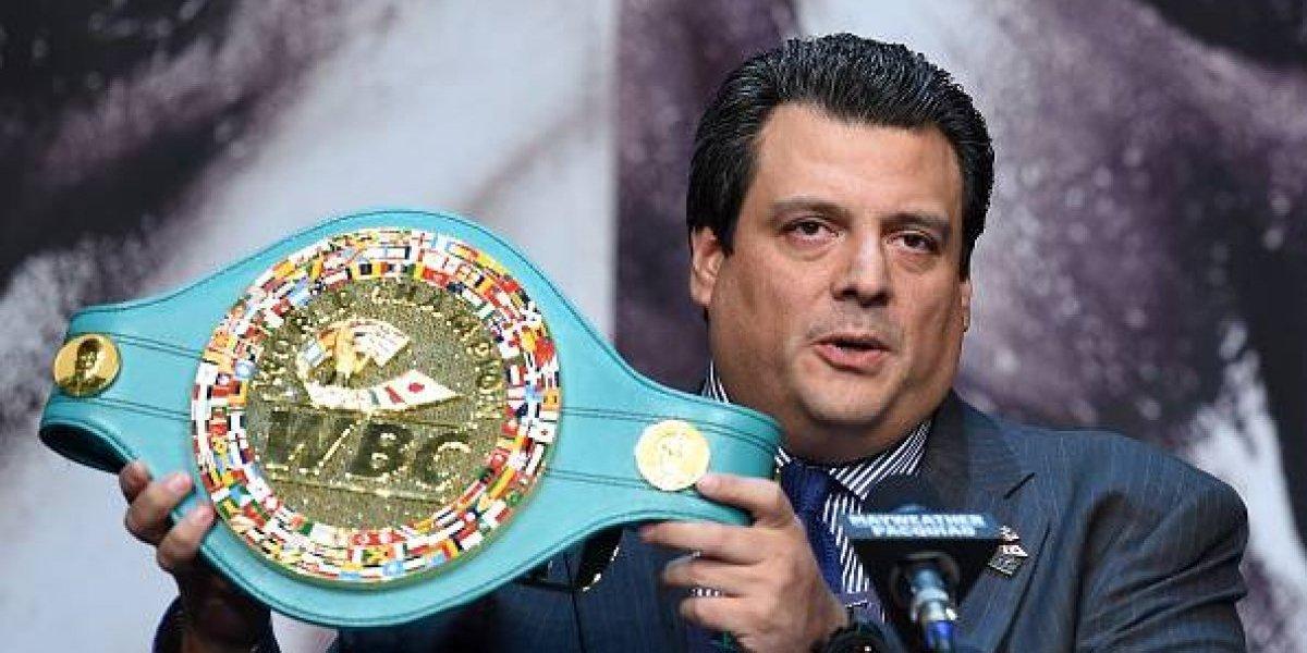Sulaimán acepta que la pelea Mayweather-McGregor sólo es por dinero