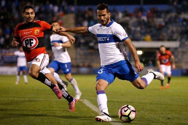 Germán Voboril sólo ha jugado un partido por la UC: ante Rangers por Copa Chile en San Carlos de Apoquindo / Photosport