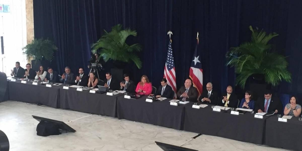 Líderes del país se reúnen en el Frente por Puerto Rico