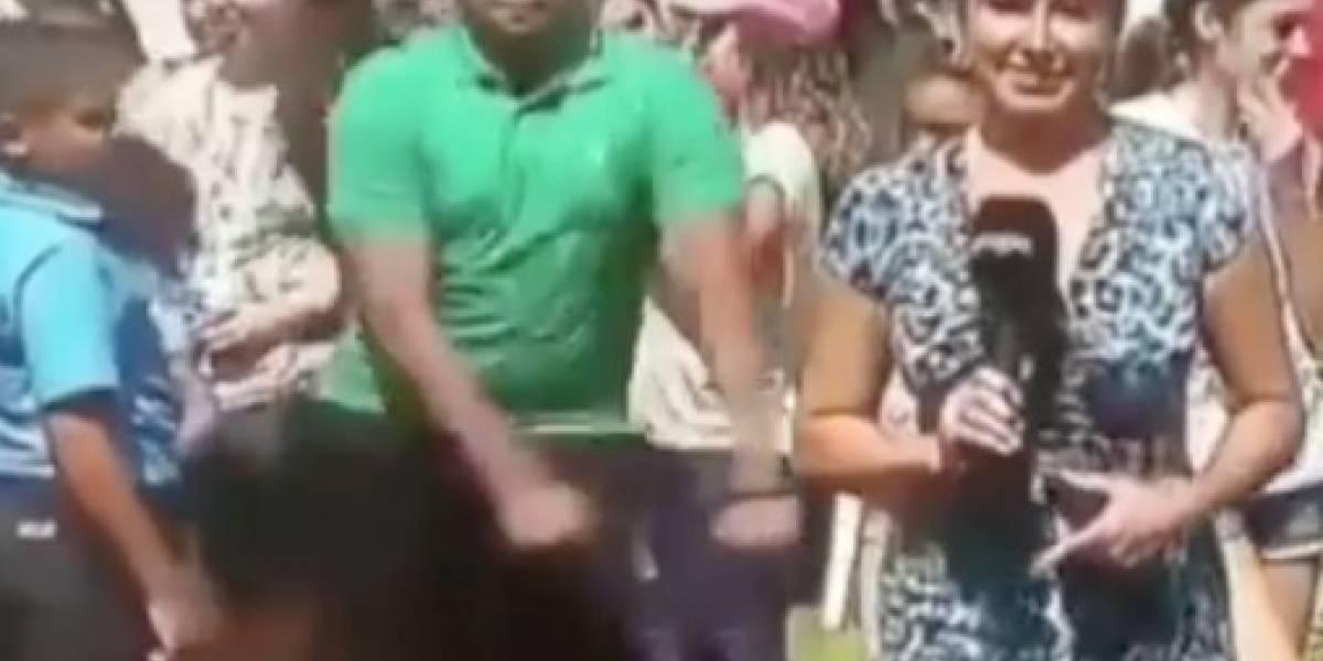 Cómicos sucesos durante transmisiones del eclipse en TV boricua