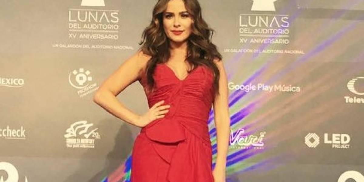 Danna García muestra rostro de su bebé