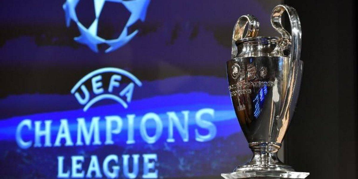 Con chilenos y posibles choques entre grandes: así será el sorteo de la Champions League