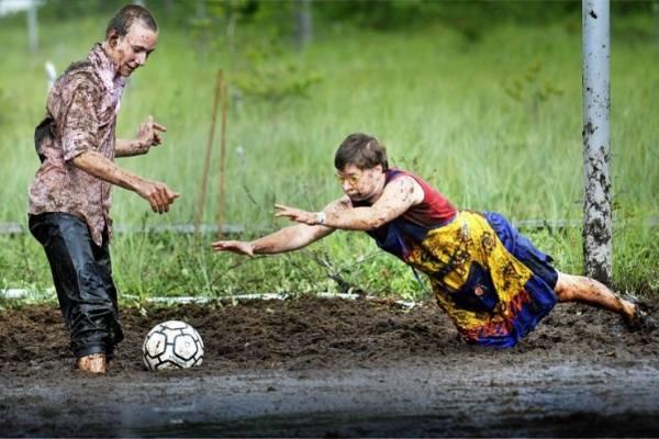 futbol barro Finlandia