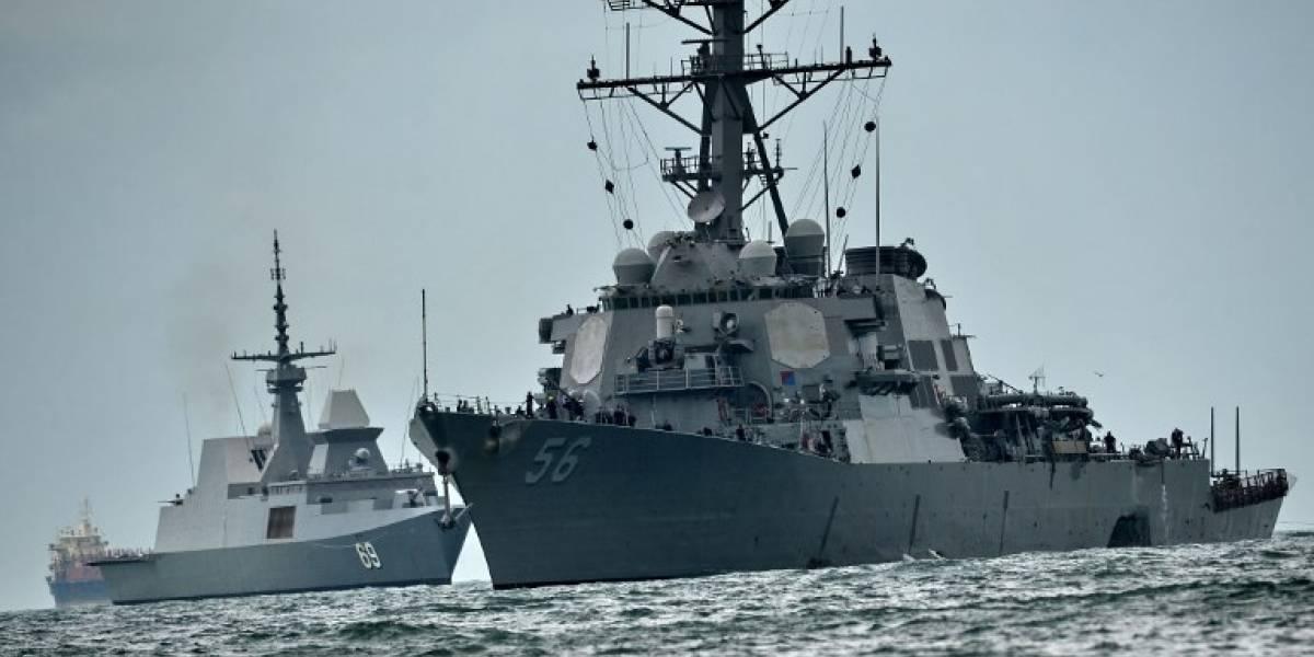 Marina de EEUU aplica la guillotina tras colisión de destructor: suspenden a vicealmirante tras incidente