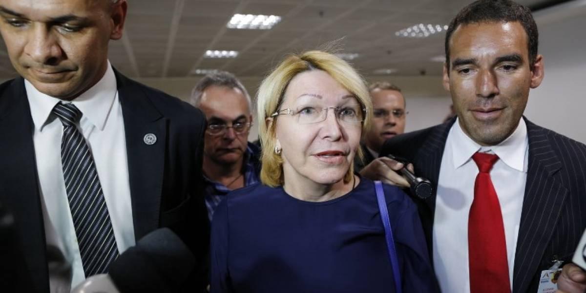 Ex fiscal venezolana llega a Brasil, desafía a Maduro y promete ventilar nuevos casos de corrupción