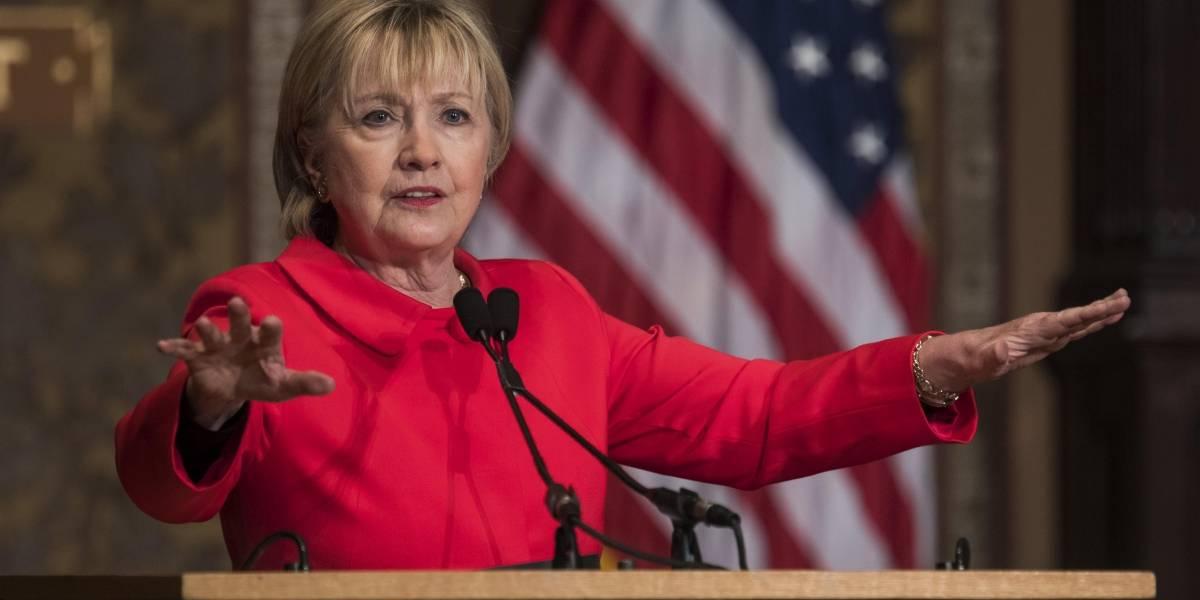 Hillary Clinton llama asqueroso a Trump
