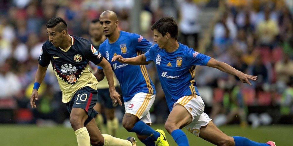 América rescata empate ante Tigres en el Azteca