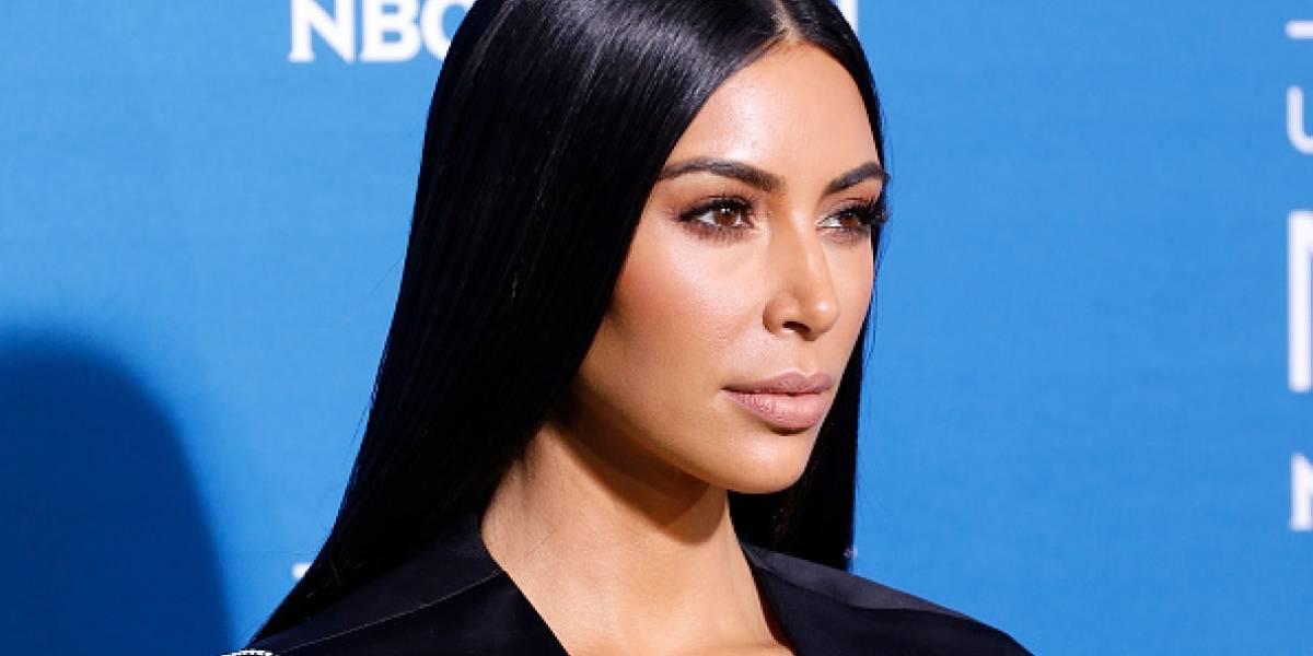 Kim Kardashian enamora a sus fans con foto de sus hijos