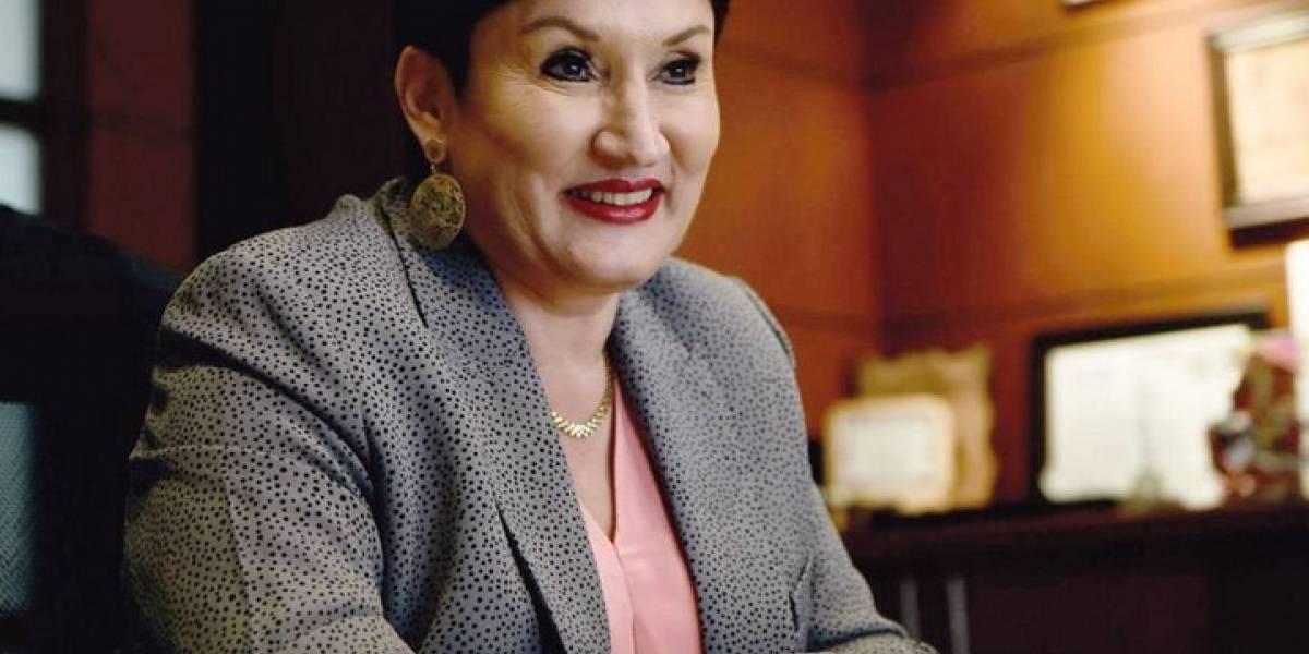 """""""Expulsarlo no es la forma de agradecerle"""", Thelma Aldana"""