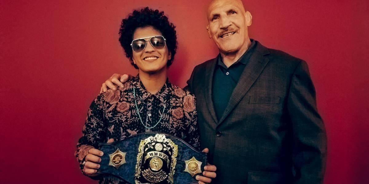 Bruno Mars conoce a Bruno Sammartino a quien le debe su apodo