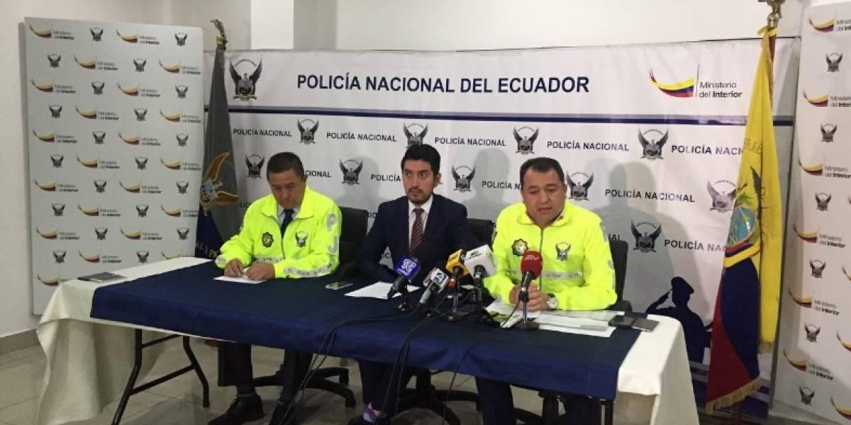Policía detiene a uno de los 'más buscados' en Quito