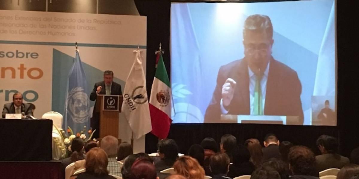 Presentará CNDH anteproyecto de Ley sobre Desplazamiento Forzado Interno