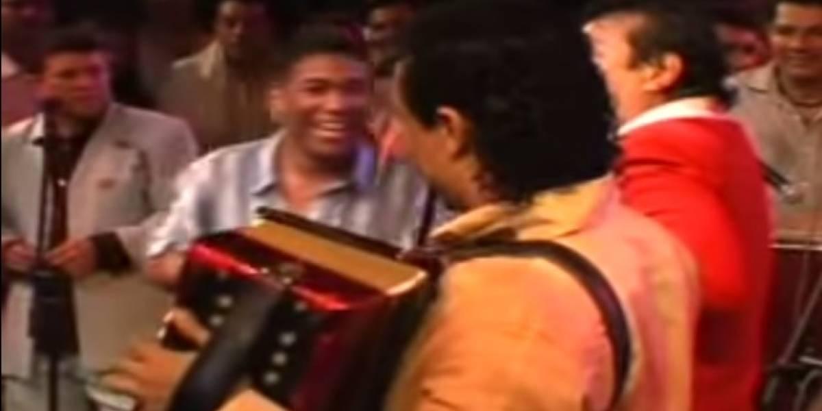 Así fue el día que Kaleth Morales cantó con Diomedes Díaz