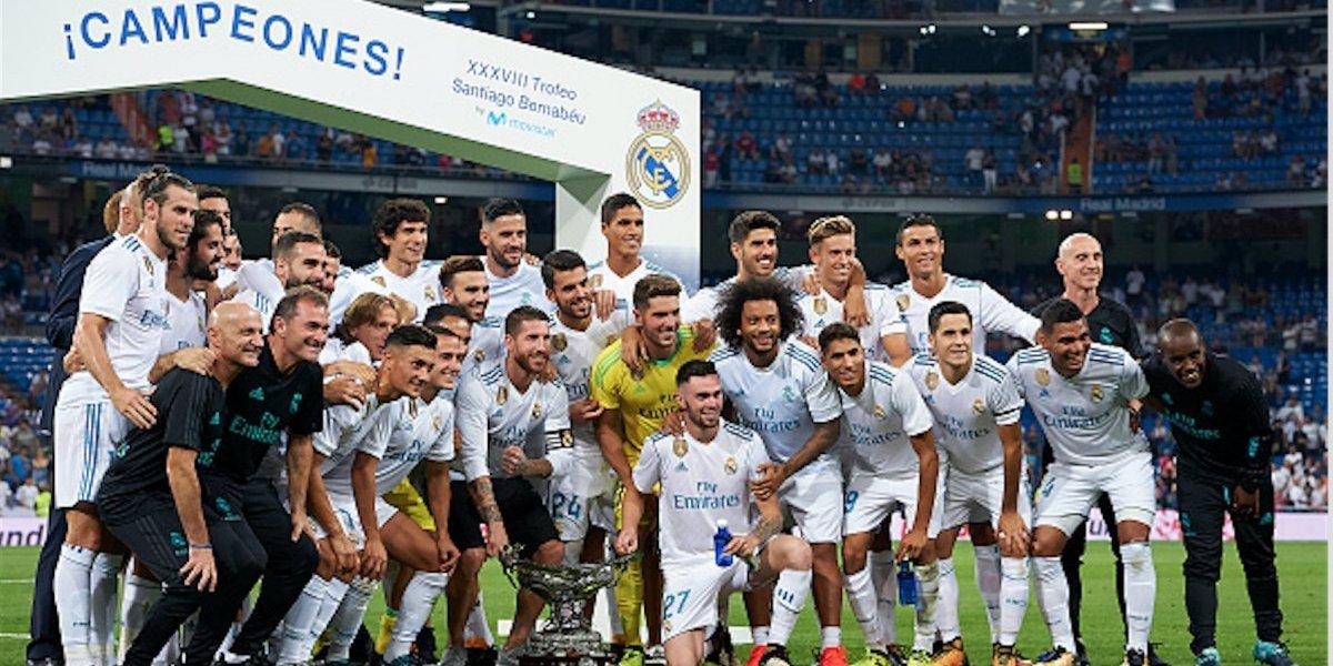 El trofeo Santiago Bernabéu se queda en casa de la mano de Cristiano