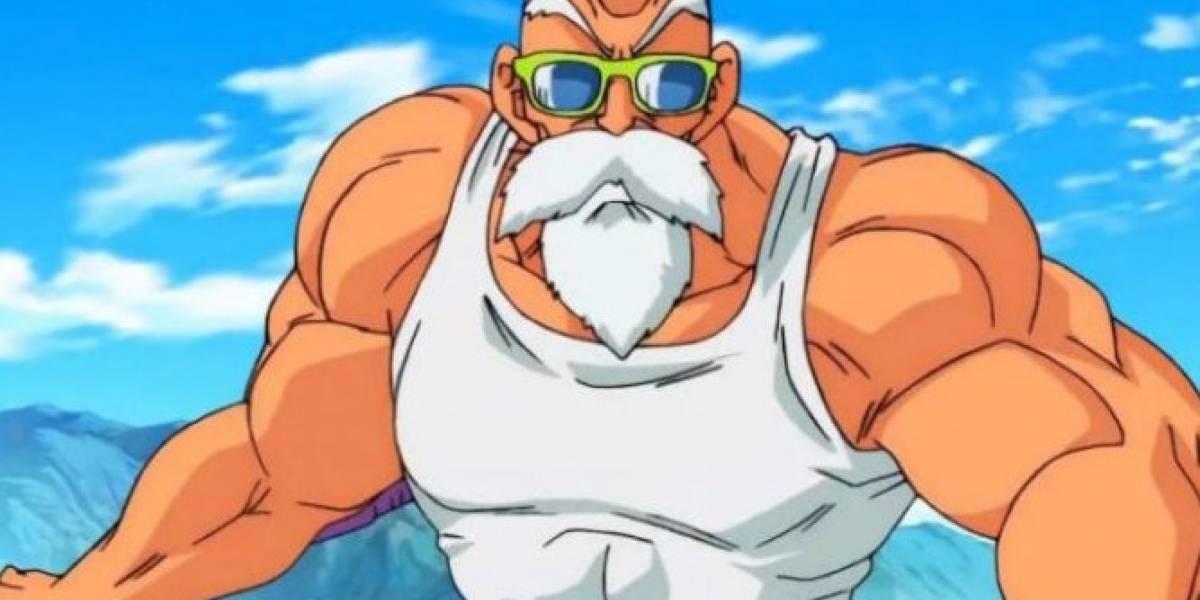 Joven sorprende con su transformación del Maestro Roshi de Dragon Ball