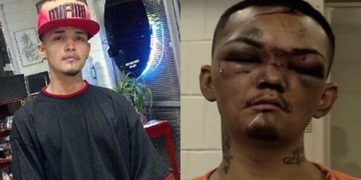 Se lleva brutal golpiza por tratar de asaltar a jugadores de futbol americano