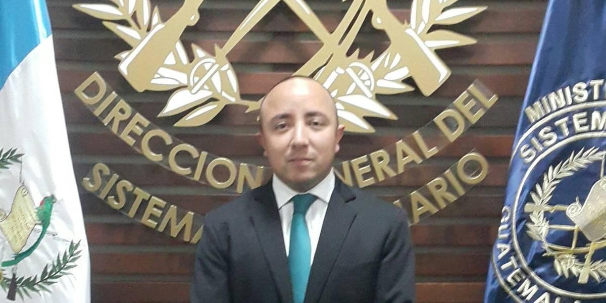Nombran a Erick Cárdenas como subdirector del Sistema Penitenciario