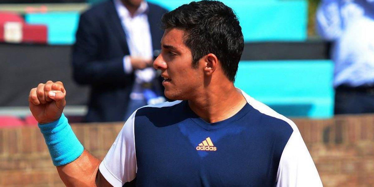 Christian Garín sigue imparable y se instaló en los cuartos de final del Challenger en Punta del Este