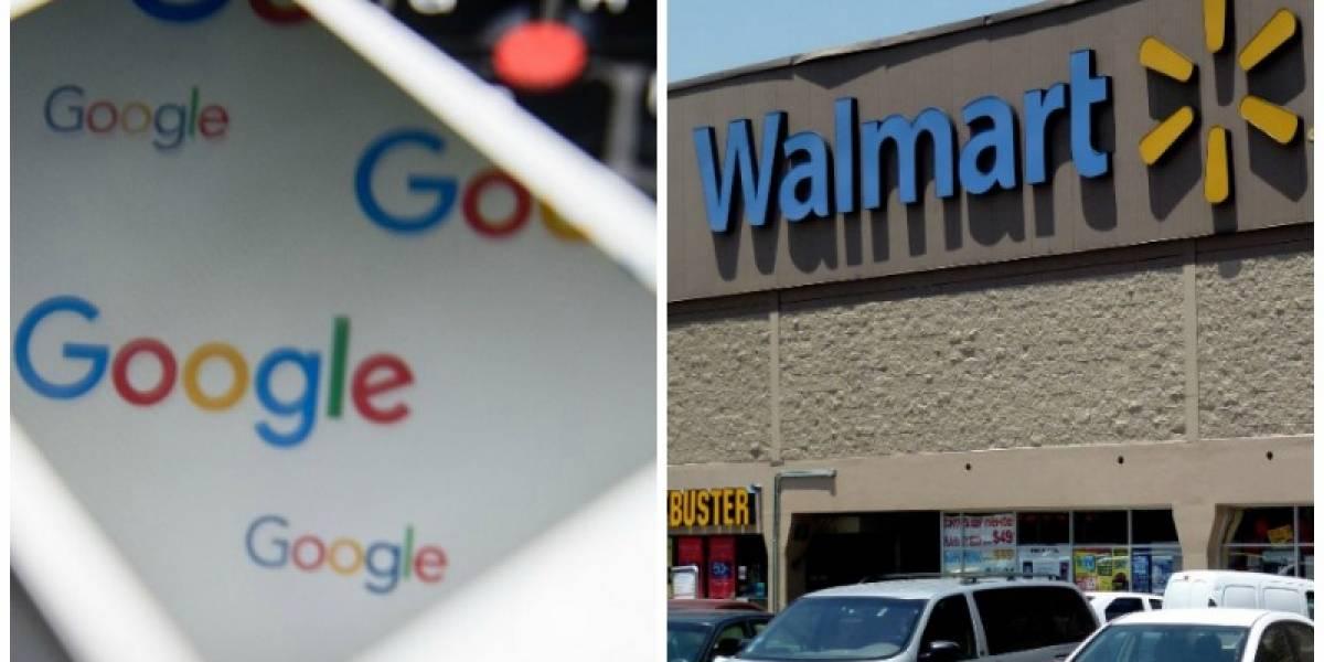 Batalla en el comercio electrónico: Google y Walmart se unen contra Amazon