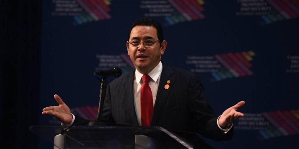 ¿A qué se enfrenta el presidente Jimmy Morales con el financiamiento ilícito?