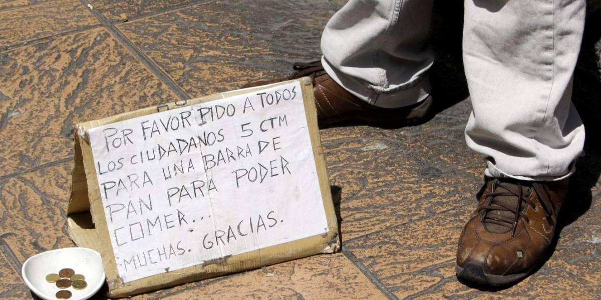 El falso campesino que conmueve a incautos y les quita su dinero, en Bogotá