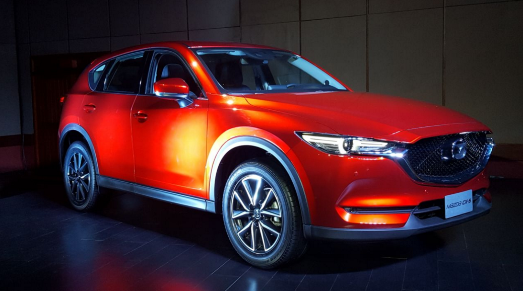"Mazda presentó la evolución de ""la joya de la corona"": la nueva SUV CX-5"