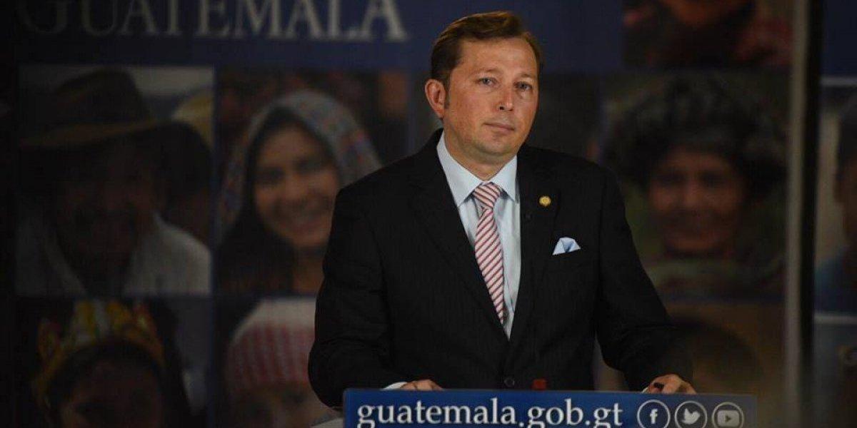"""Hiemann: """"Guatemala es un país soberano... no vamos a aceptar instrucciones en inglés ni mandarín"""""""