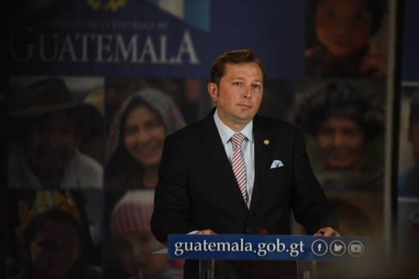 Heinz Hiemann, vocero presidencial