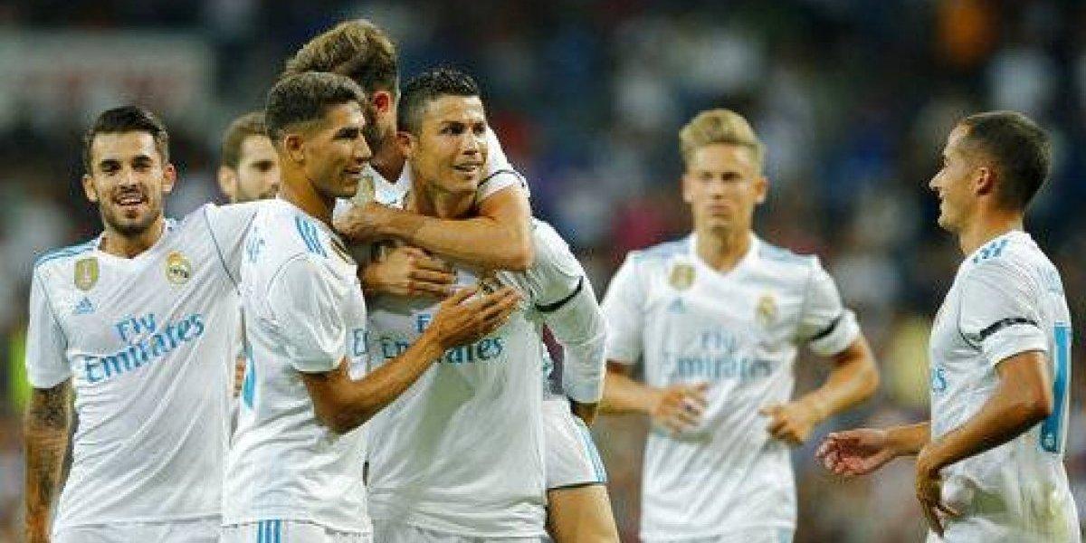 Cristiano Ronaldo le da un nuevo título al Real Madrid