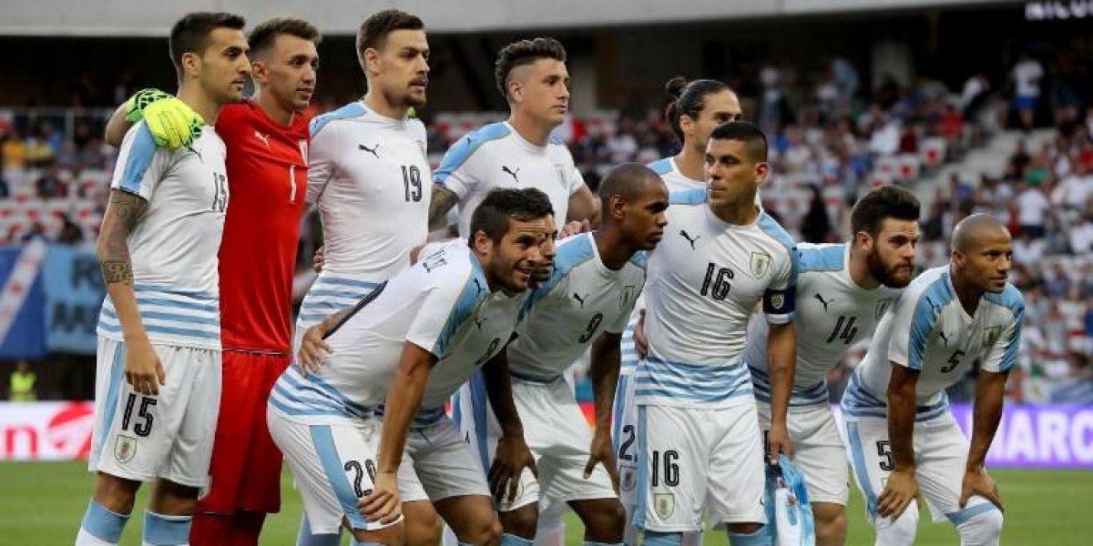 Tabárez llama a Gastón Pereiro para suplir a Suárez que está lesionado