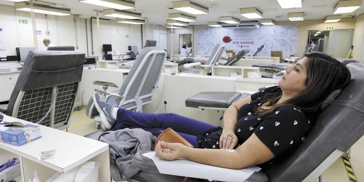 Bancos de sangue de São Paulo operam em estado crítico