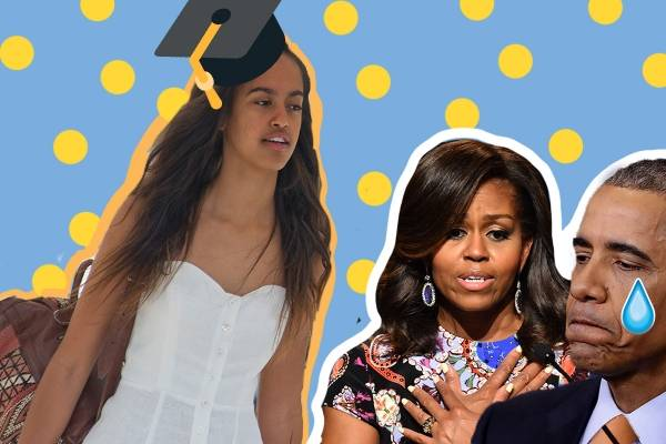 Malia Obama va a Harvard