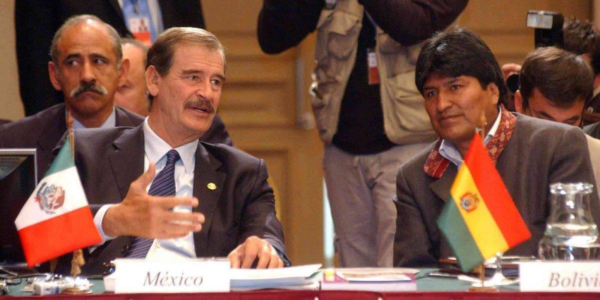 Evo Morales a Fox: Luche contra el muro, no contra Maduro