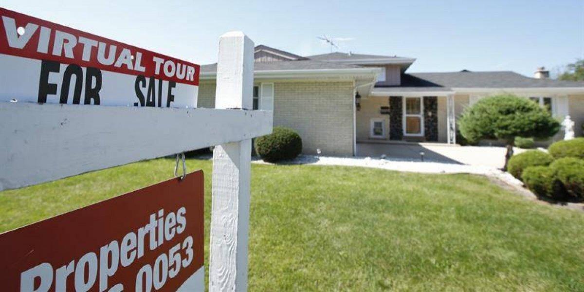 Las ventas de casas usadas bajan un 1,3 % en julio