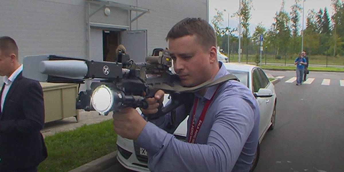 Así funciona el rifle Kaláshnikov que 'asesina' drones y teléfonos'