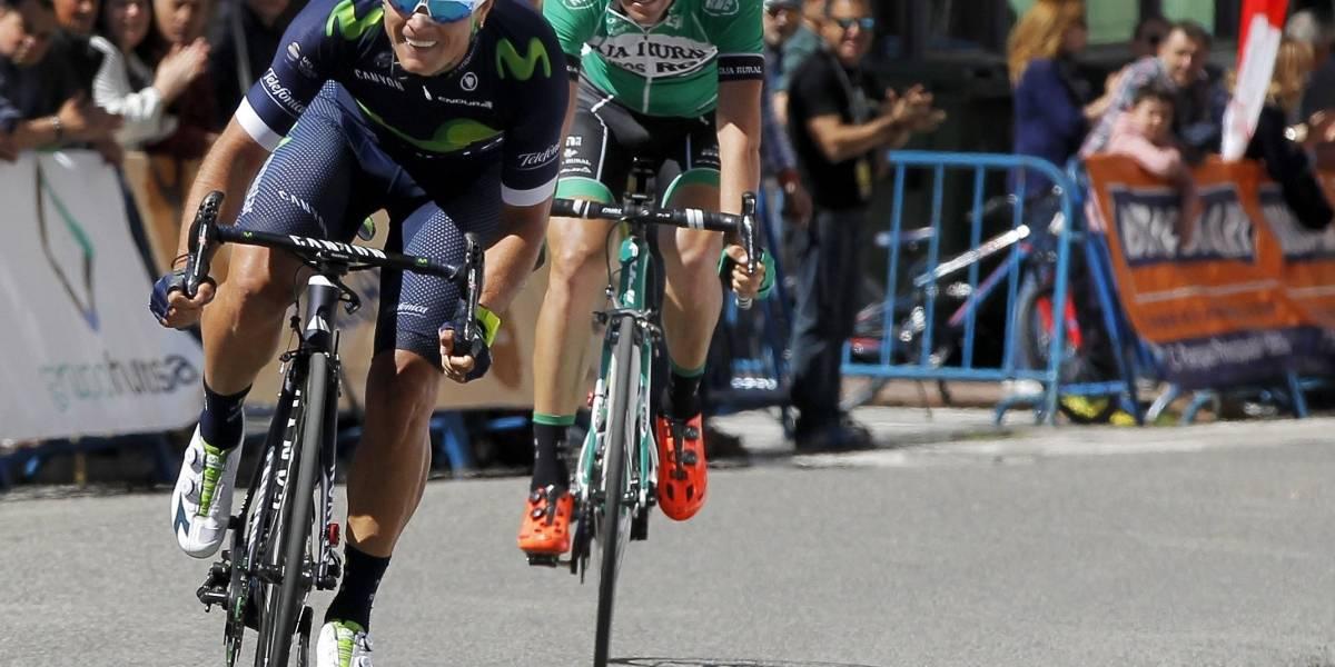 Vuelta a España: Carlos Betancur se cayó en el último alto de meta