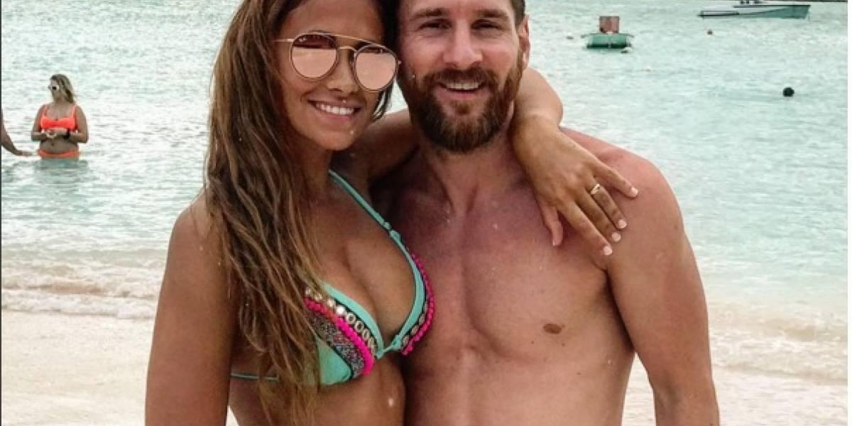 Antonella Roccuzzo y Lionel Messi serían padres por tercera vez