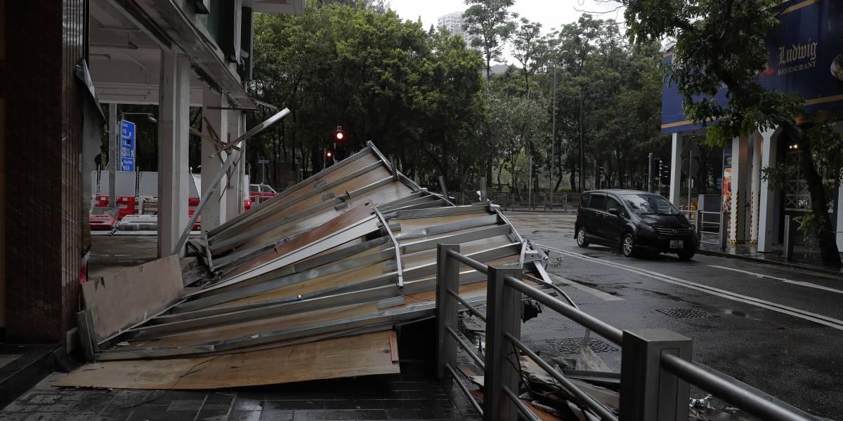 Aumenta a 9 los muertos por el tifón Hato en China