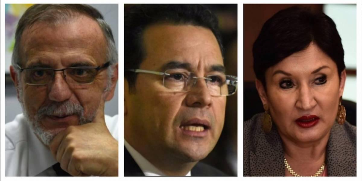 """La parodia del triángulo de """"amor y desamor"""" entre Aldana, Velásquez y Morales"""