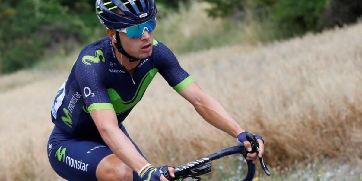 Carlos Betancur se despide de la Vuelta a España con una fractura