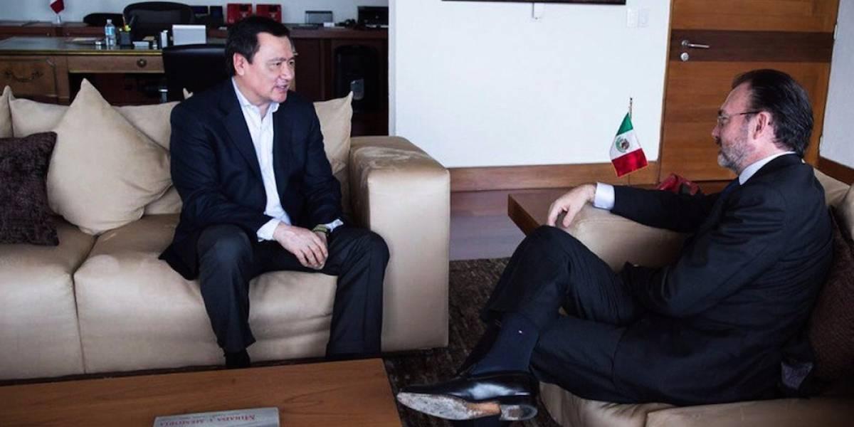 Osorio Chong y Videgaray se reúnen a favor de los connacionales en EU