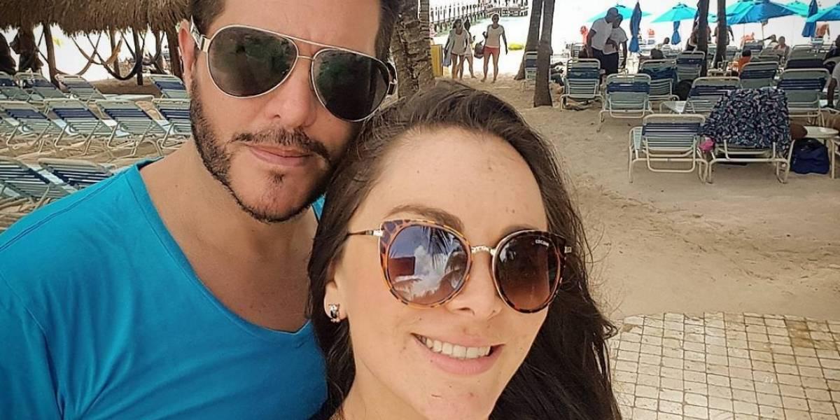 Estas son las primeras imágenes de la esposa de Marcelo Cezán embarazada
