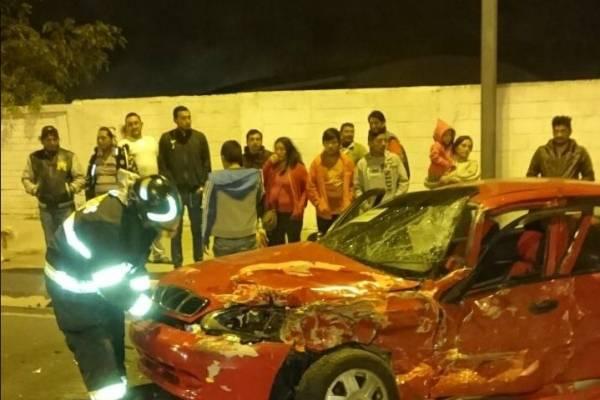 Accidente de tránsito en sector Nanegalito, Quito