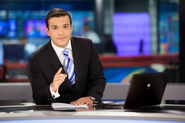 Juan Diego Alvira, presentador de noticias.