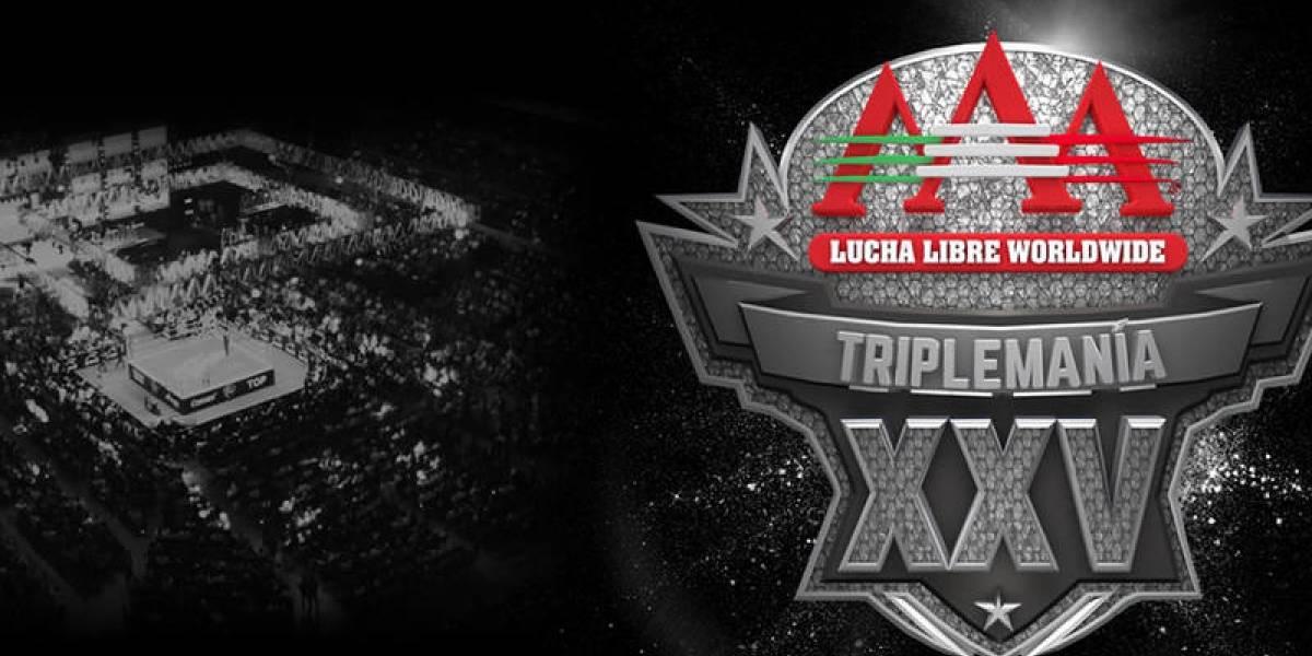 Triplemanía XXV se transmitirá completa y en vivo por Twitch