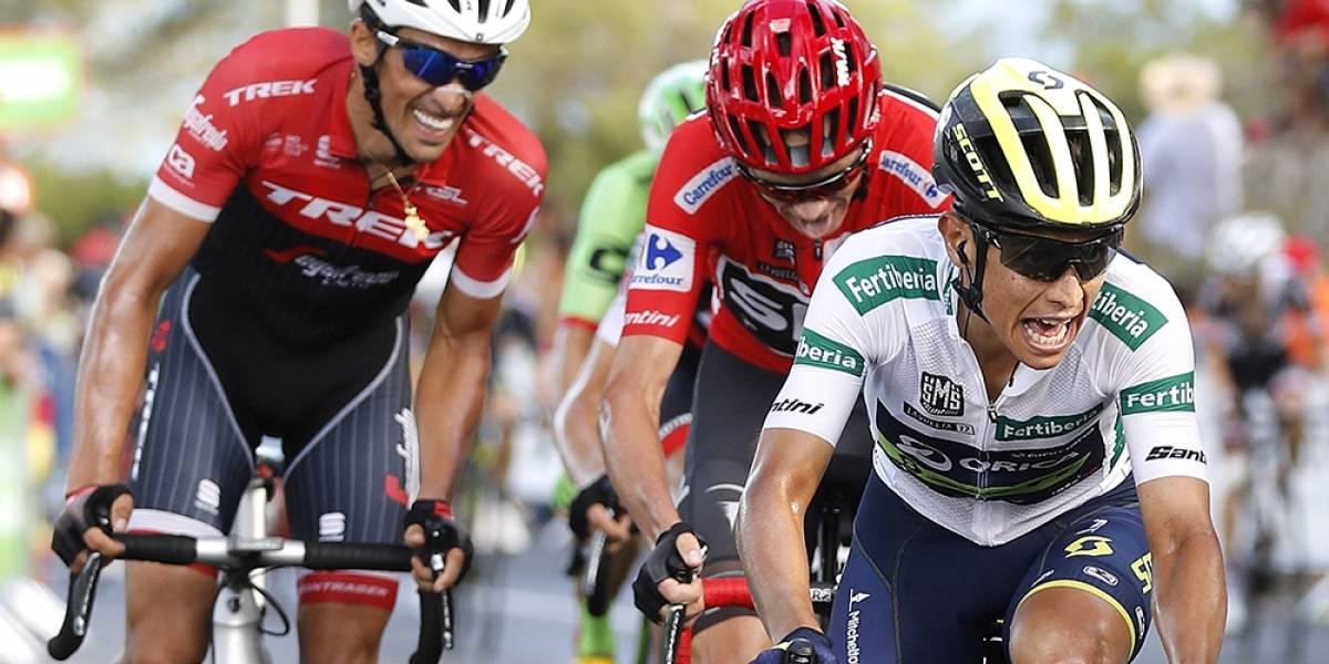 Froome sigue su paso avasallante en la Vuelta a España: Chaves, segundo